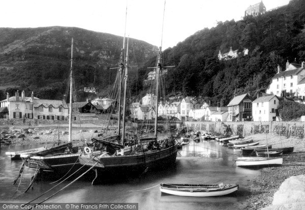 Photo of Lynmouth, c1890, ref. L126301
