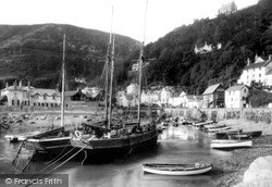 c.1890, Lynmouth
