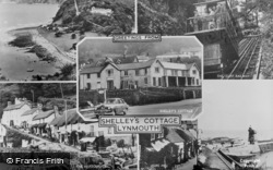 Lynmouth, Composite c.1955