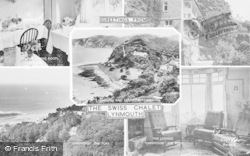 Lynmouth, Composite, The Swiss Chalet c.1955