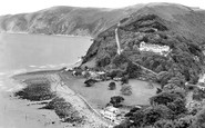Lynmouth, Countisbury Hill 1929