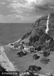 Countisbury Hill 1929, Lynmouth