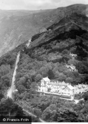 Countisbury Hill c.1930, Lynmouth