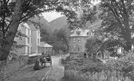 Lynmouth, Entrance To The Village c.1890