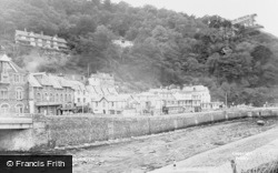 Lynmouth, General View c.1955