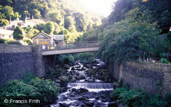 Glen Lyn Gorge And West Lyn River 1988, Lynmouth