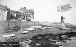 Harbour, Low Tide 1909, Lynmouth