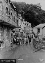 Lynmouth, High Street c.1955