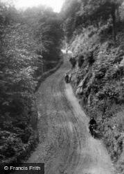 Lynton Hill c.1930, Lynmouth