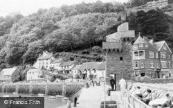 Rhenish Tower And Mars Hill c.1955, Lynmouth