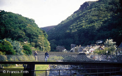 River And Bridge 1988, Lynmouth