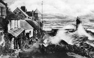 Lynmouth, Rough Sea 1899