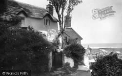 Shelley's Cottage 1920, Lynmouth