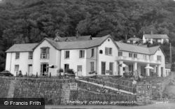 Shelley's Cottage c.1955, Lynmouth