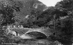 Stone Bridge To Watersmeet 1907, Lynmouth