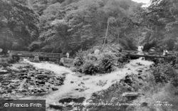 The Bridges, Watersmeet c.1955, Lynmouth