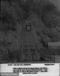 The Cliff Lift c.1955, Lynmouth