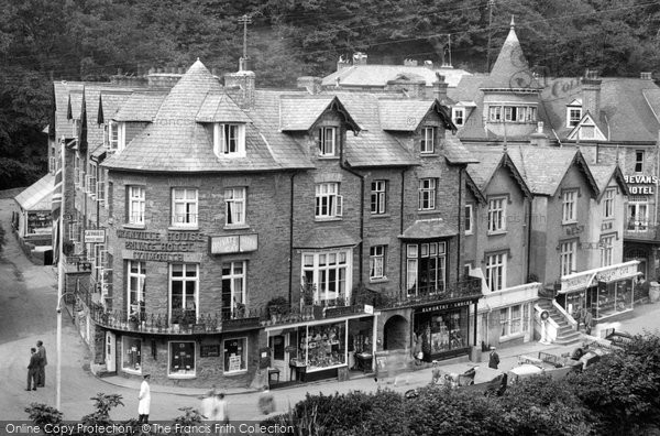 Photo of Lynmouth, The Granville House Hotel 1929