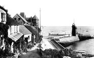 Lynmouth, the Harbour 1899