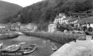 Lynmouth, The Harbour c.1955