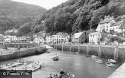 The Harbour c.1955, Lynmouth