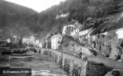 The Harbourside c.1930, Lynmouth