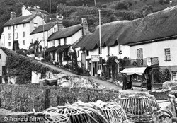 The Harbourside c.1955, Lynmouth