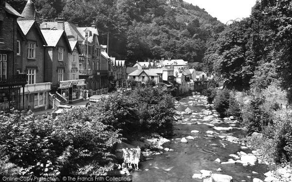 Photo of Lynmouth, The Lyn 1929