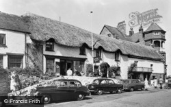 Lynmouth, The Rising Sun Hotel c.1955