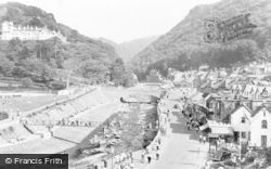 Lynmouth, The River c.1955