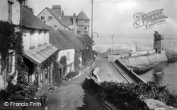 The Seafront c.1930, Lynmouth