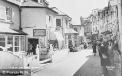 Lynmouth, The Street c.1955