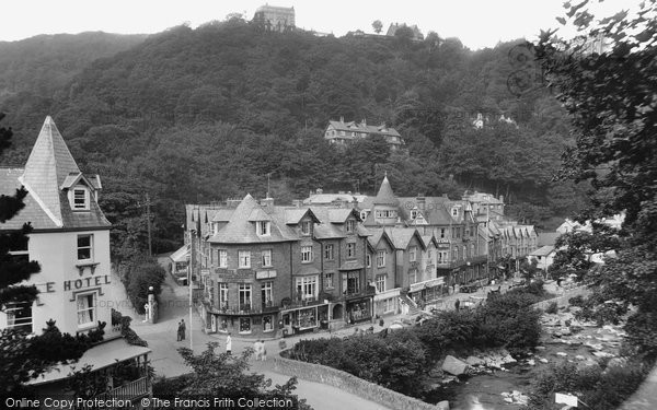 Photo of Lynmouth, View From Tors 1929