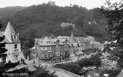 Lynmouth, View From Tors 1929