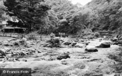 Lynmouth, Watersmeet c.1955