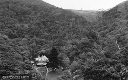 Lynmouth, Watersmeet Valley 1890