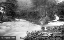 Watersmeet Valley c.1930, Lynmouth