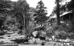 Lynmouth, Watersmeet Valley Cottage 1890