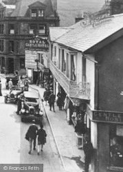 Lynton, Castle Hill 1929