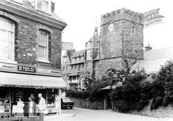 Lynton, Church Corner c.1965