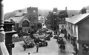 Lynton, Church and Castle Hill 1929