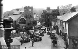 Lynton, Church Of St Mary The Virgin And Castle Hill 1929