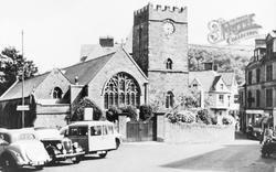 Lynton, Church Of St Mary The Virgin c.1955