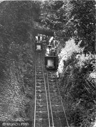 Lynton, Cliff Railway 1929