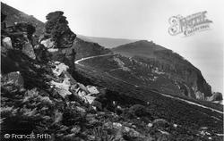 Lynton, Devil's Cheesewring 1907