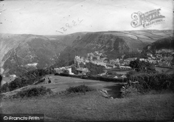 Lynton, From Hollerday Hill 1891
