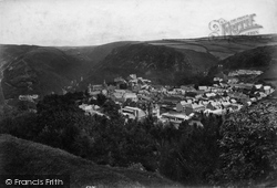 Lynton, From Hollerday Hill 1907