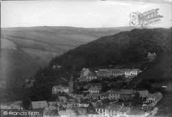 Lynton, From Hollerday Hill 1911