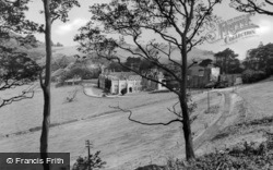 Lee Abbey From The South c.1950, Lynton