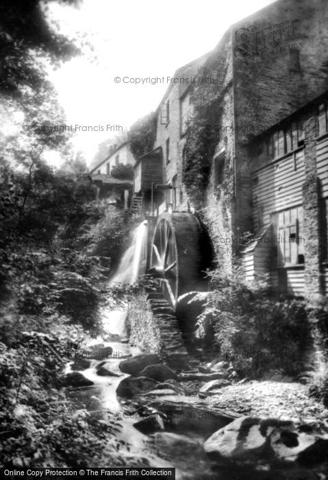 Lynton,Lynbridge Mill 1900,Devon